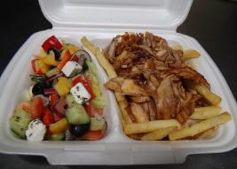 Gyros Tál Görög Salátával